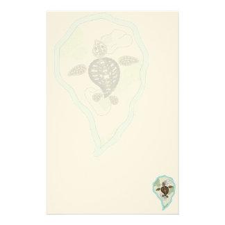 Callie the Sea Turtle Stationery