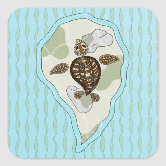 Callie the Sea Turtle Sticker