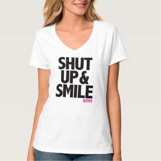 Calliefornia™-Shut Up & Smile Tee Shirts