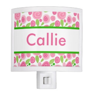 Callie's Personalized Rose Nightlight Nite Lites