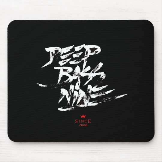 Calligraffiti Mousepad By Flixx (Black)