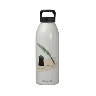 Calligrapher Instruments Drinking Bottles