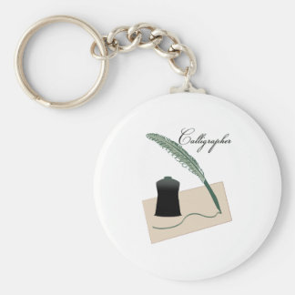 Calligrapher Keychains