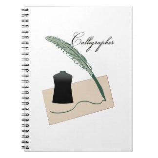 Calligrapher Note Book