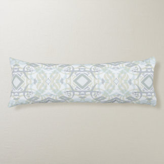 Calligraphic Body Pillow in Pastel