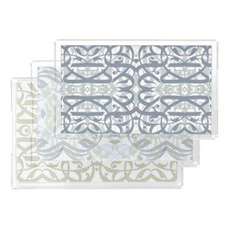 Calligraphic Trays Set