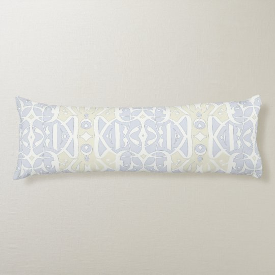 Calligraphy Body Pillow Pastel