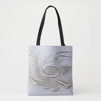 Calligraphy Flourish 2.0 Tote Bag