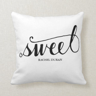 calligraphy sweet pillow