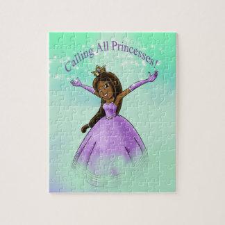 """Calling All Princesses"" Puzzle"