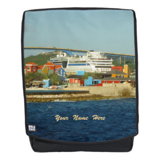 Calling at Curacao St. Anna Bay Personalized