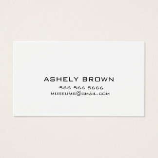 Calling Business Card