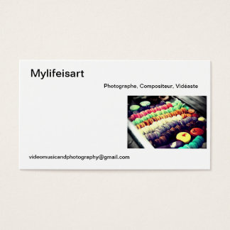 Calling card Mylifeisart