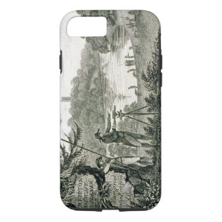 Calling card of Humphrey Repton, engraved by Thoma iPhone 7 Case