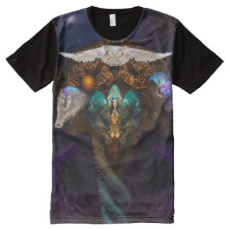 Calling The Spirit Animals All-Over-Print Shirt