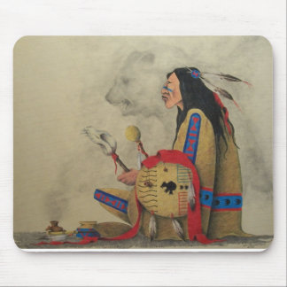 Calling The Spirits Mouse Pad