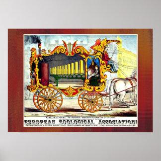 Calliope! 1874 advertising poster