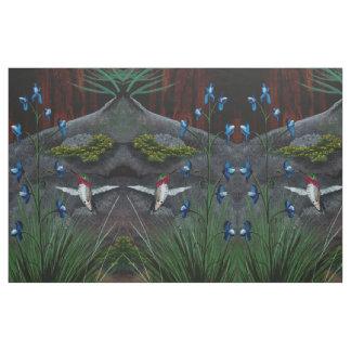 Calliope Hummingbird Fabric