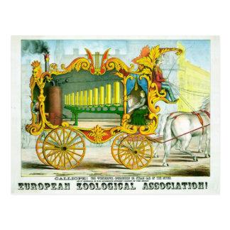 Calliope - The Wonderful Operonicon Postcard