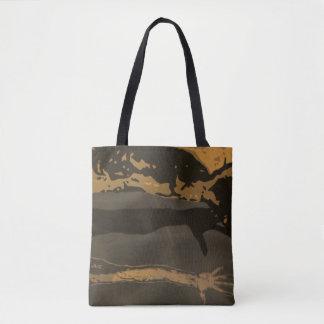 """Calm"" All-Over-Print Tote Bag"