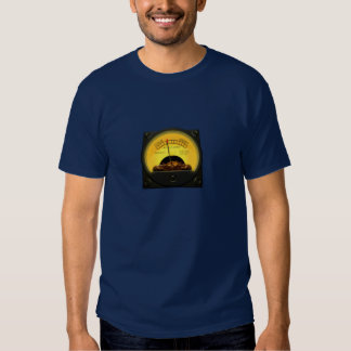 CALM - ANGRY indicator dial Tshirts