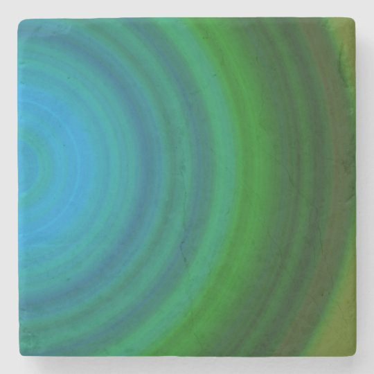 Calm as the Sea Marble Stone Coaster