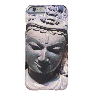 Calm, Asian Stone Face Statue Head Close-up Photo Barely There iPhone 6 Case