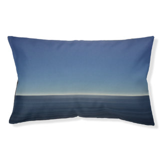 Calm Blue Ocean Small Dog Bed