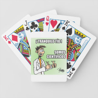 Calm cup uncle we are scientists bicycle playing cards