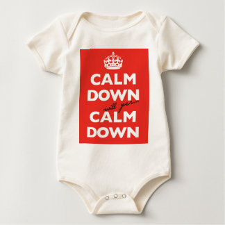 Calm Down Mum Baby Bodysuit