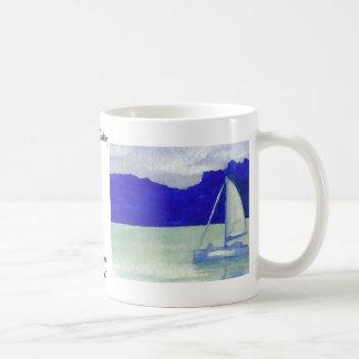 Calm Easy Sailing  CricketDiane Ocean Art Classic White Coffee Mug