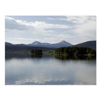Calm Lake Dillon Colorado Postcard