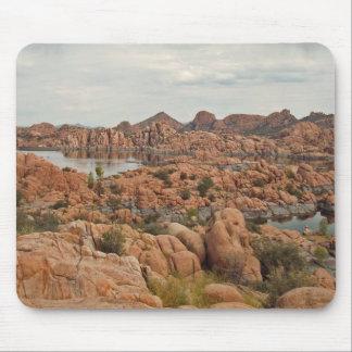 Calm lake mouse pad