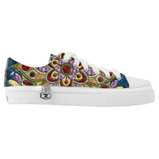 Calm Medallion Low-Top Sneakers