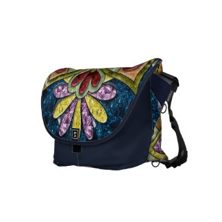 Calm Medallion Messenger Bag