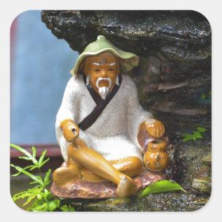Calm Monk Stickers