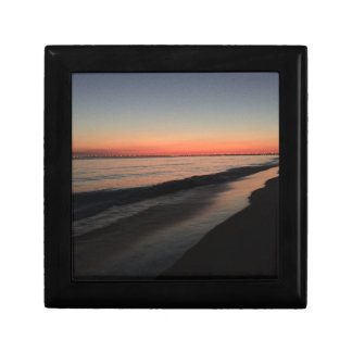 Calm morning beach sunrise gift box