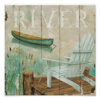 Calm River Print