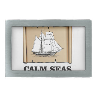 calm sea yeah belt buckle