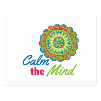 Calm The Mind Postcard