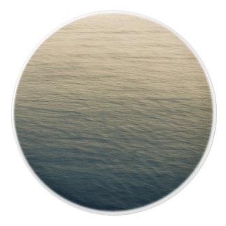 Calm Water At Twilight Ceramic Knob