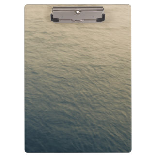 Calm Water At Twilight Clipboard