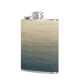 Calm Water At Twilight Hip Flask