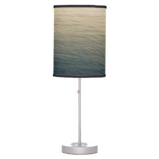 Calm Water At Twilight Table Lamp