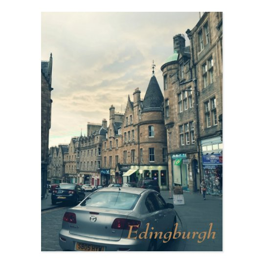 Calming Edinburgh Postcard