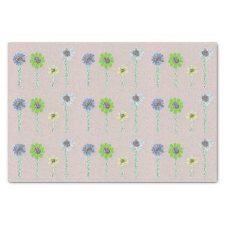 Calming Flowers Tissue Paper