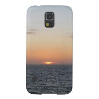 Calming Orange Sunset Galaxy S5 Cover