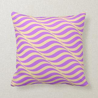 Calming Waves Throw Pillow
