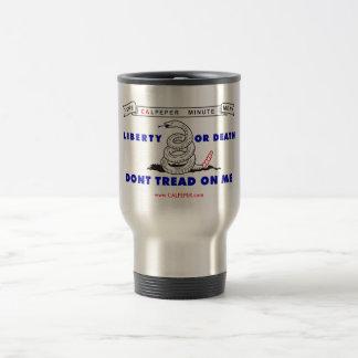 Calpeper® Steel Travel Mug