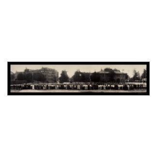 Caltech Throop Pasadena Photo 1908 Poster